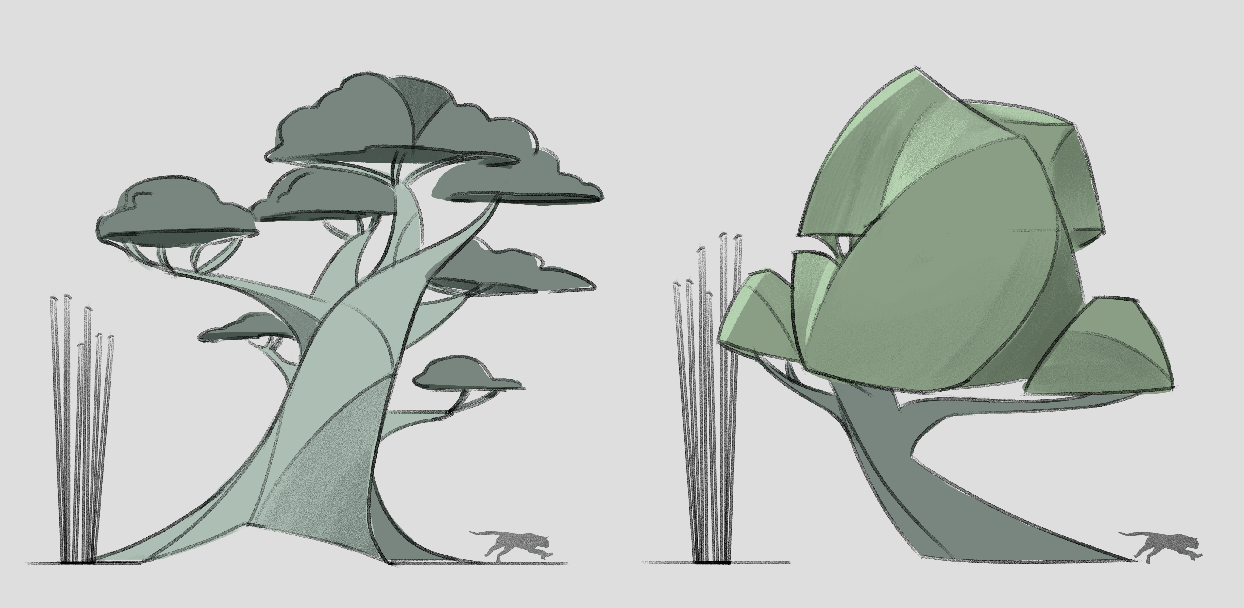 puma_forest_environment_trees